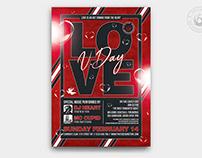 Valentines Day Flyer Template V25