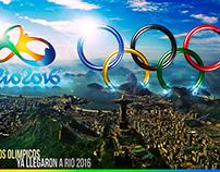 Juegos Olimpicos Río 2016 / Fotomontaje