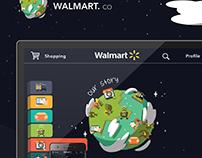 Walmart.co: Gamification (Responsive Design)