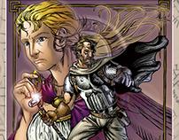 Dothenridge: TVM Issue 1 - Comic Book Lettering