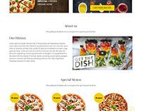Fresh Box Food,Website design