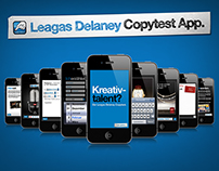 "LEAGAS DELANEY // APP ""Copytest"""