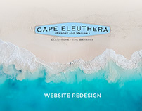 Cape Eleuthera - Website Redesign