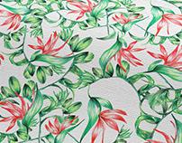 I n t e r i o r Pattern Floral / ALOHA