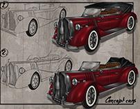 Concept history car