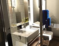 Modern Skylight Bathroom