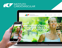 UX/UI Website - Instituto Cardiovascular