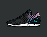 ZX Flux Xeno Animation