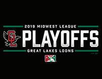 2019 Loons Playoffs Designs