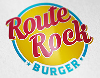Logo Route Rock Burger