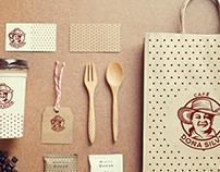 PACKAGING, BRANDING CAFE DOÑA SILVIA