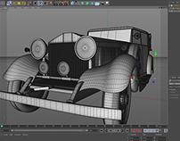 Modelling Rolls Royce: Personal Project