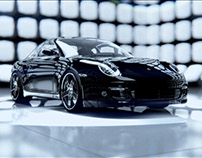 Porsche 911 Turbo - 3D animation
