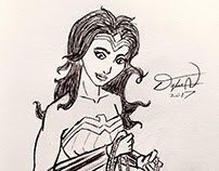 Wonder Woman Sketches