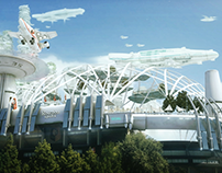 Roazhon park sci-fi version : VFX
