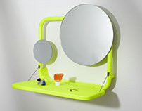 Pop-Up Mirror
