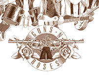 TABLEAU GUNS'N'ROSES