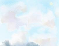 Pastel Sky At Noon