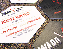 Ward Brothers Business Cards