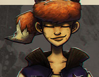 Foxi - Character design