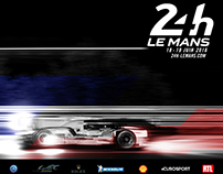 24h of Le Mans 2016 poster