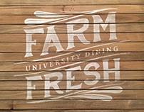Typography Transfer - OSU Dining