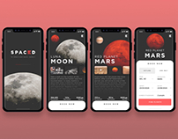 Spaces iOS booking flow - part 1