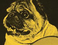 Pug Fest posters, 2015