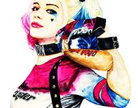 sketch/Harley Quinn