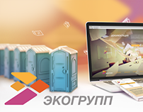 "Сайт компании ""ЭкоГрупп"" / ""EcoGroup"" company site."