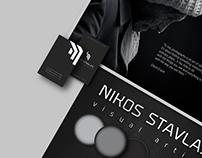 Nikos Stavlas _ Visual artist/ Personal brand & website