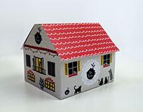 """packaging """"tea house"""""""