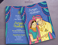 Rajasthan Wedding Invitation
