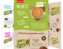 Wellness creative website design