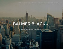 Website for a Boutique Manhattan Law Firm