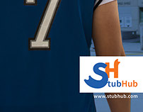 Stub Hub Ads and Logo