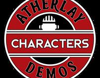 Atherlay's Demos Tin Labels