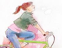 Bike with heart
