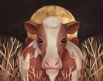 Digital Art: Collection of Animal Portraits