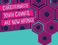 Christchurch Youth Council | 2016 Recruitment Poster