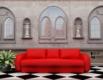 Conceptual Design for an interior