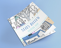 Stars Hollow Coloring Book