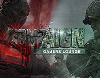 CAMPAIGN | Gamers Lounge Identity
