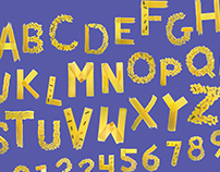 Al Dente Typeface design and Poster