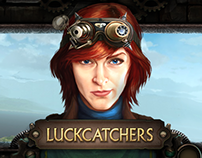 Steampunk game UI
