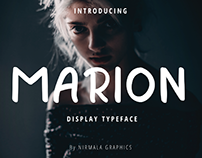 Marion- Display Font