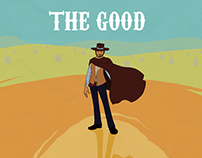 The Good, the Bad and the Ugly - movie poster exercise