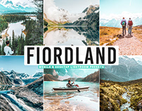 Free Fiordland Mobile & Desktop Lightroom Presets