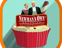 Newman Rush Mobile App Idea for Newman's Own Organics