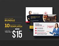 Real Estate Business Card Bundle